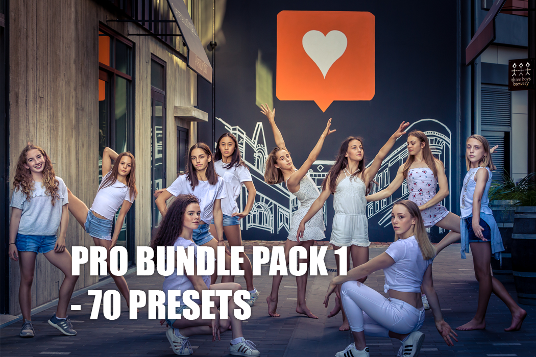 MDV Pro Bundle Pack : Lightroom Presets